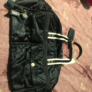 Coach nylon duffle bag